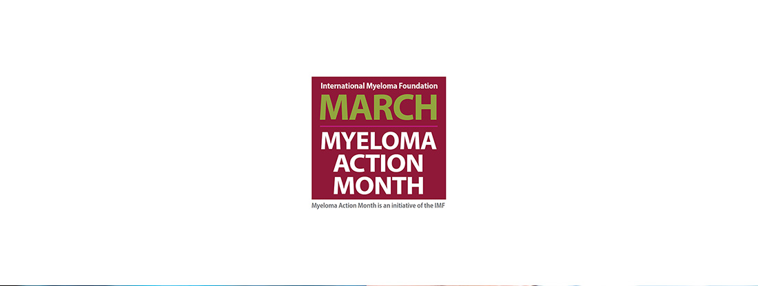 March Myeloma Action Month banner
