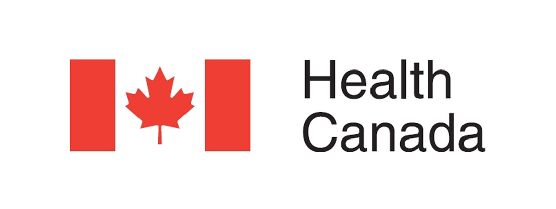 """Canadian Flag with """"Health Canada"""" text"""
