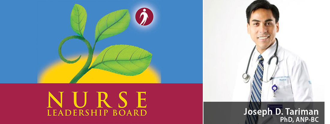 Nurse Leadership Board, Dr. Joseph Tariman