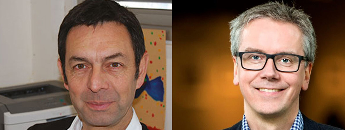 Phillipe Moreau and Sigurdur Kristinsson headshots