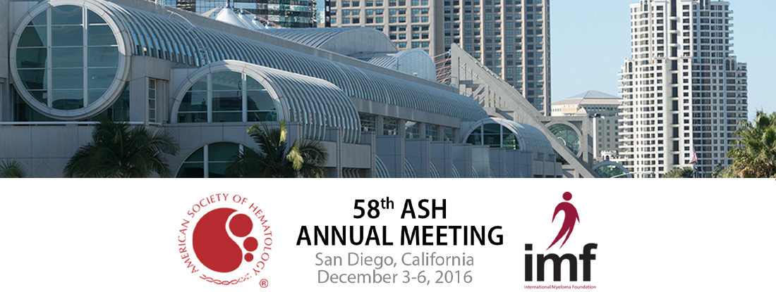 58th Annual Ash Meeting Text Overlaid on Image of San Diego Convention Center
