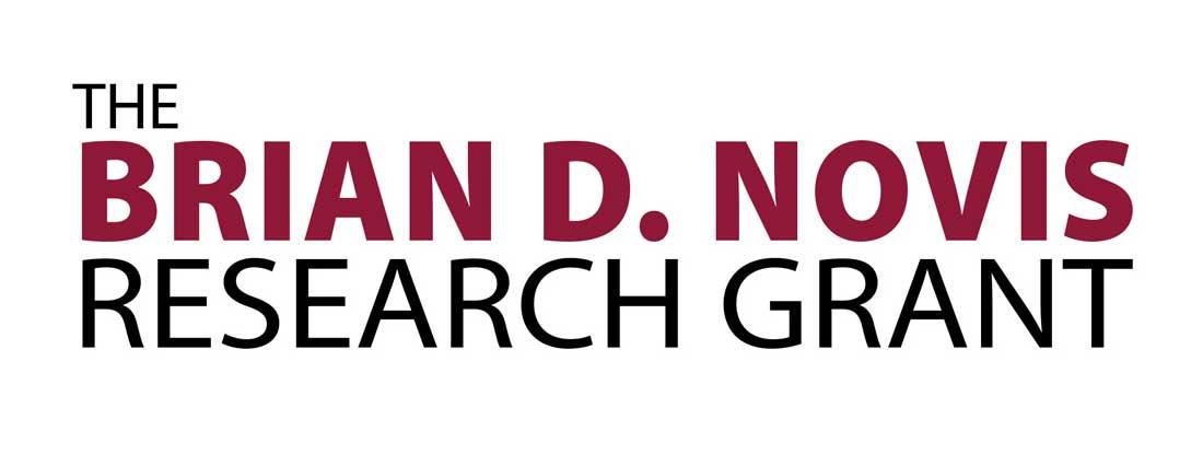 Text Logo: The Brian D. Novis Research Grant