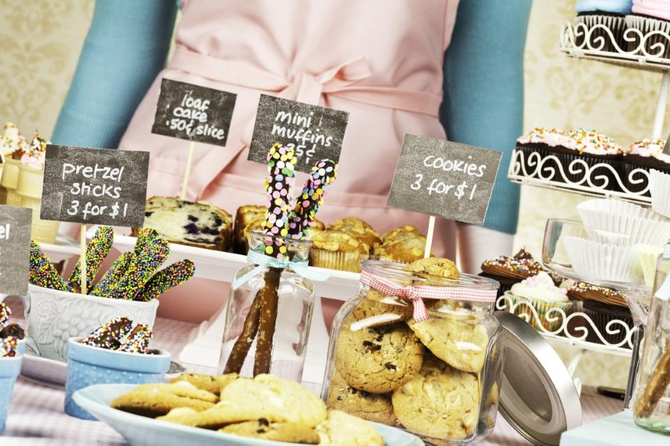 An assortment of baked goods.