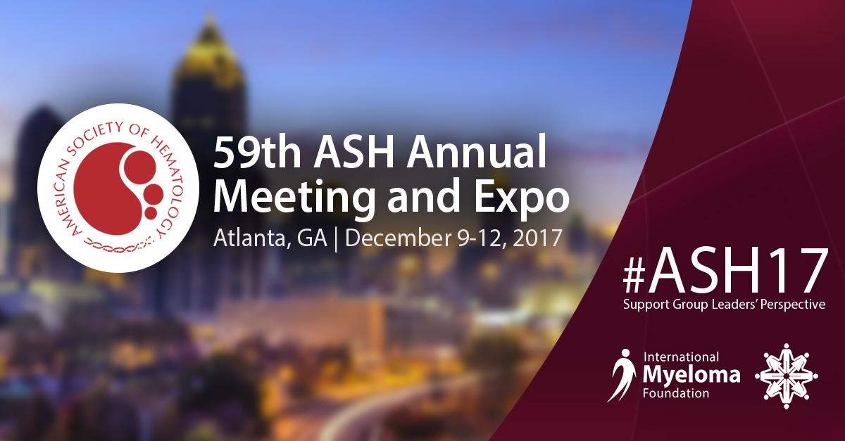 ASH 2017 Atlanta, GA