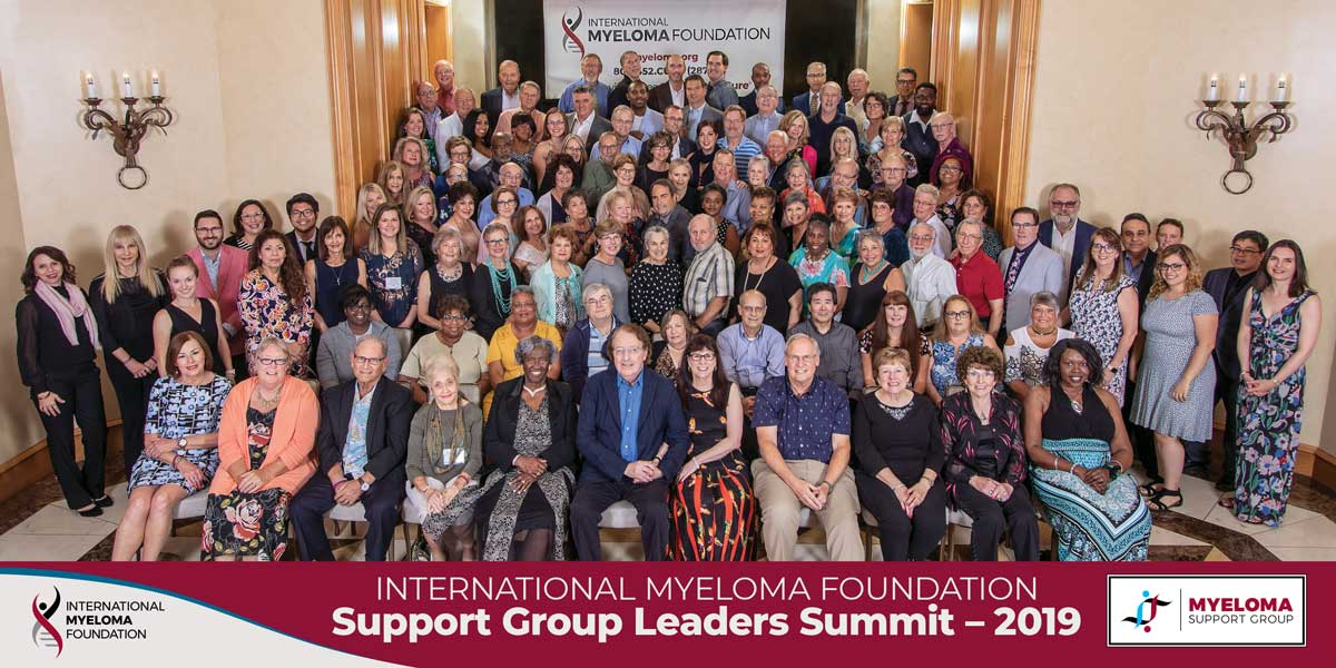 support group leader summit team photo