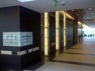 bank of elevators