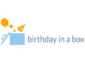 """birthday in a box"""
