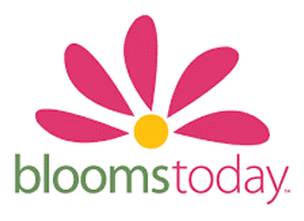 """""""blooms today logo"""""""