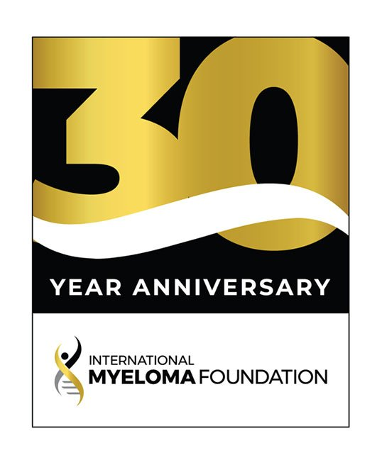 international myeloma foundation 30th anniversary logo