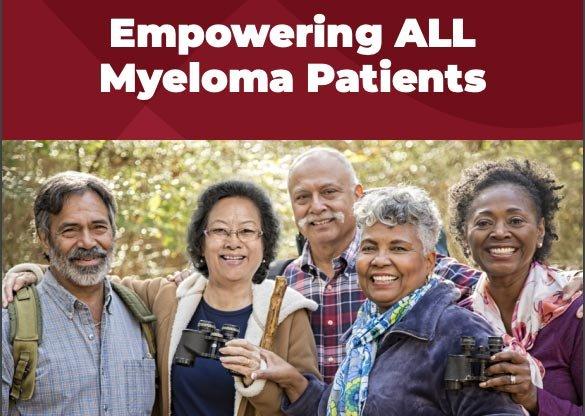 International Myeloma Foundation diversity informational brochure
