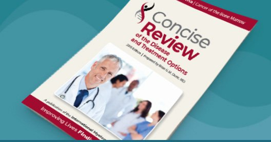 imf myeloma informational booklet the concise review