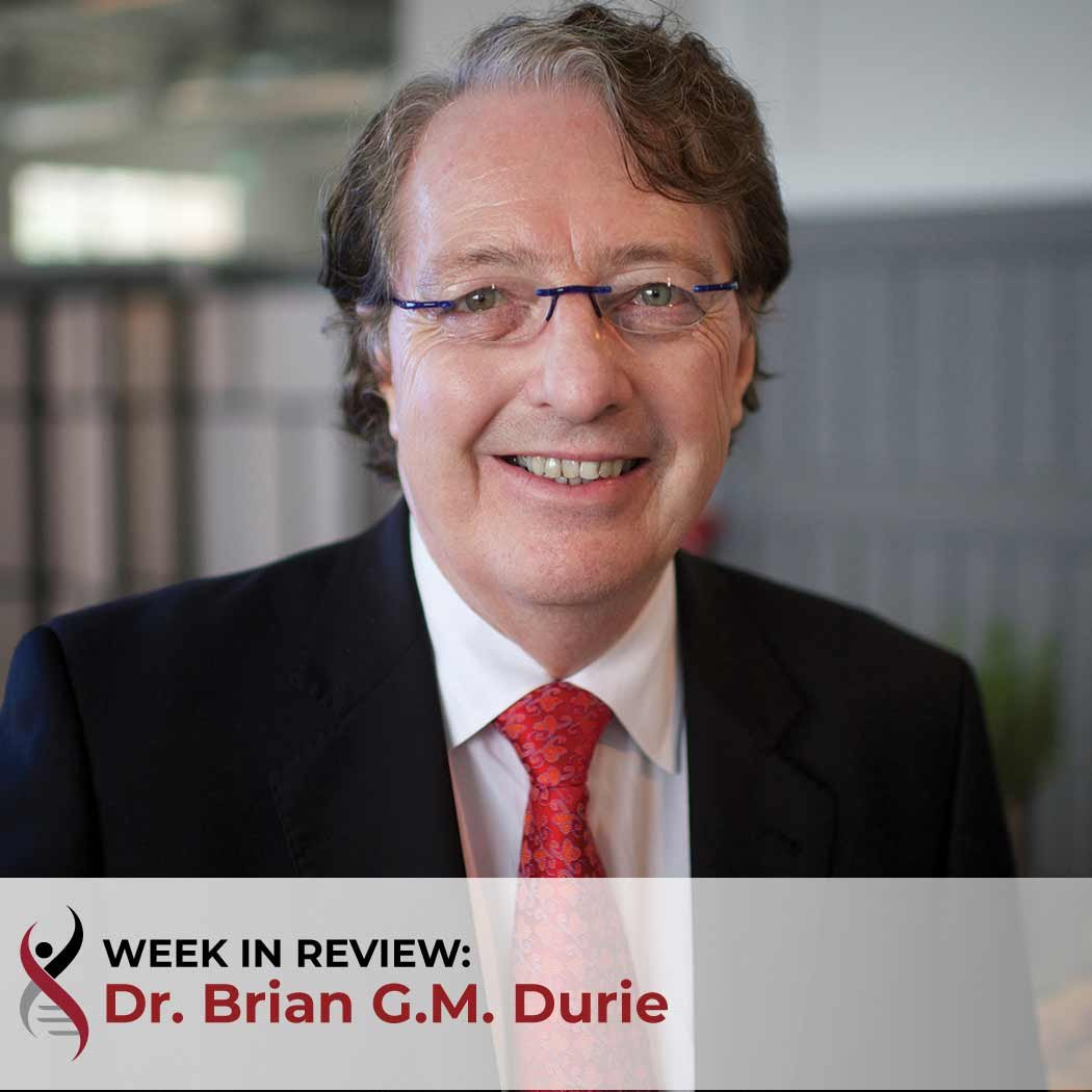 Dr. Brian G.M. Durie's Week in Review Myeloma Blog