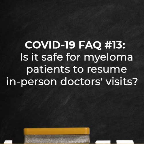 COVID 19 FAQ 13 Is it safe to visit doctor