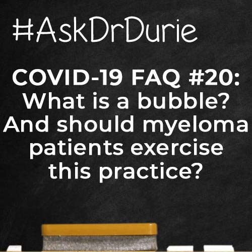 ADD covid what is a bubble? SQ