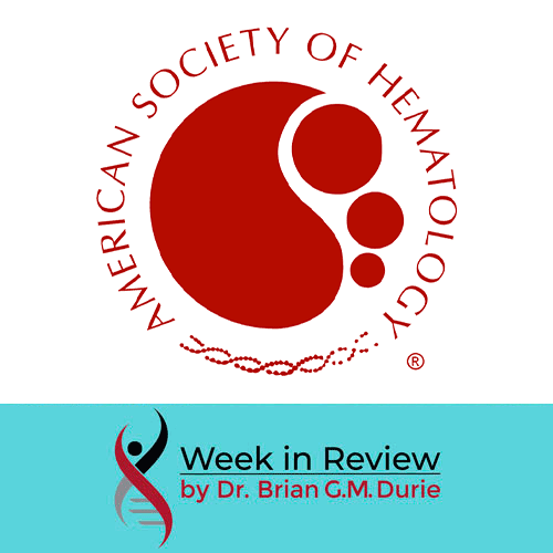 Ask Dr. Durie blog: American Society of Hematology Blog