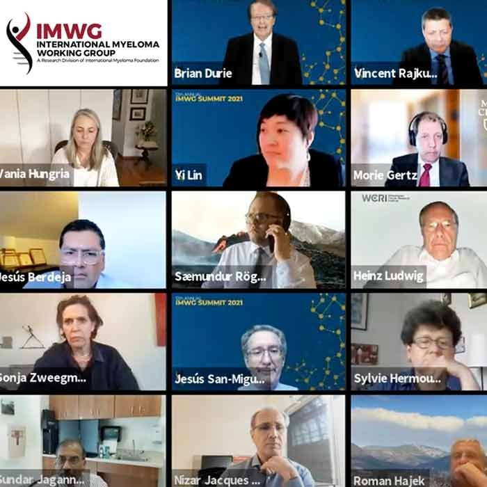 International Myeloma Working Group annual Summit on Zoom