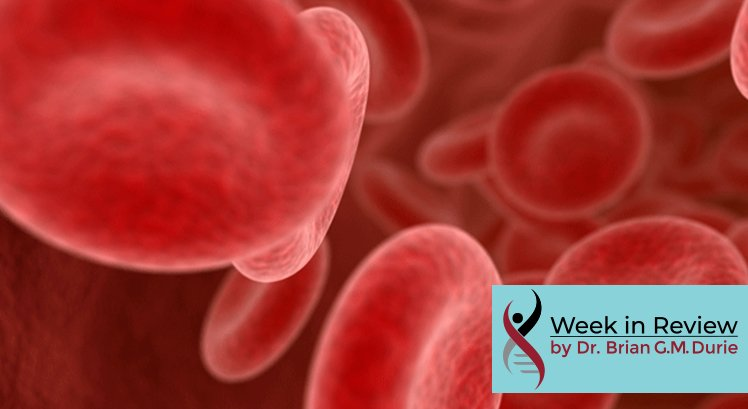 Rendition of blood cells