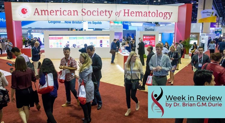 American Society of Hematology booth 2019