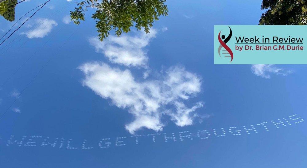Uplifting Sky Writing