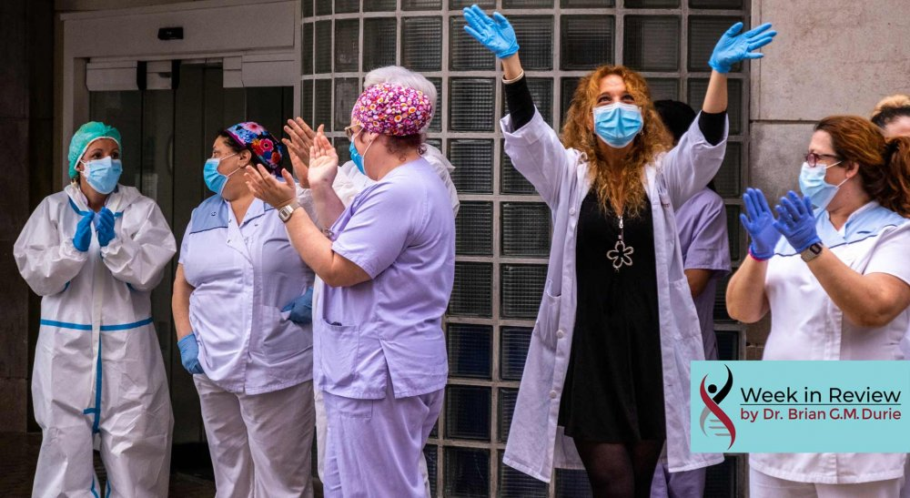 nurses celebrating
