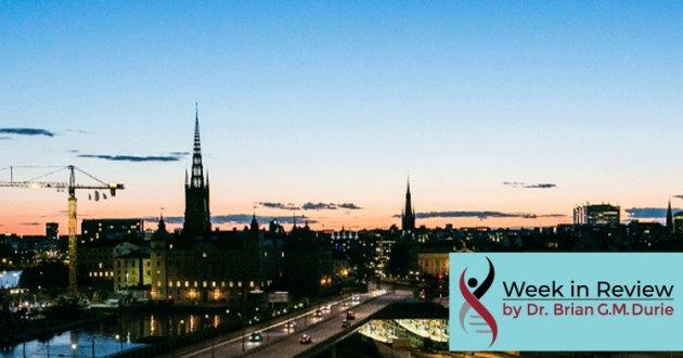 Stockholm Sweden skyline night