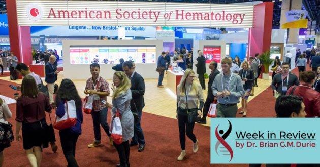 American Society of Hematology booth 2019