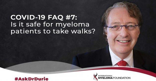 Ask Dr. Durie: Patient Walking