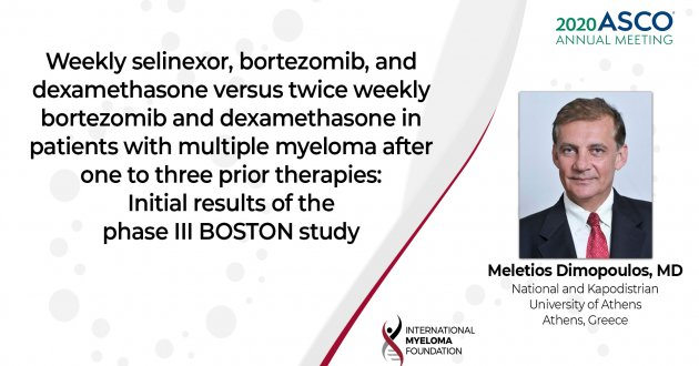 ASCO 2020 Results of the BOSTON trial