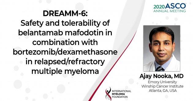 ASCO 2020 DREAMM6 Safety and Tolerability of Belantamab Mafodotin