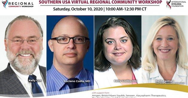 southern usa regional community workshop speakers
