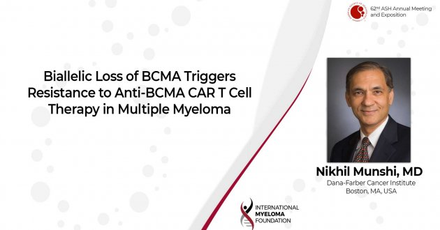 Biallelic Loss of BCMA Triggers Resistance to Anti-BCMA CAR T Cell Therapy in Multiple Myeloma