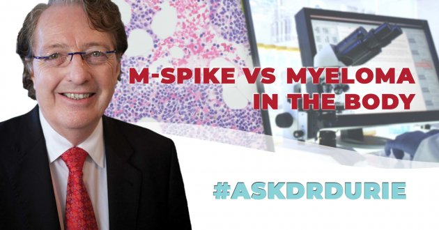m-spike myeloma video