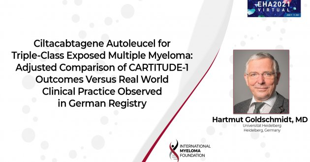 EHA 2021 real worlds outcomes of CARTITUDE-1