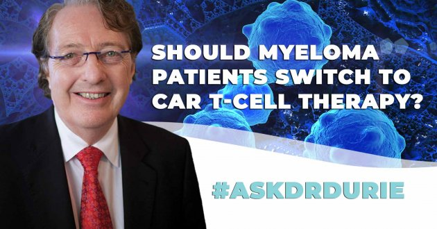 myeloma treatment car t question