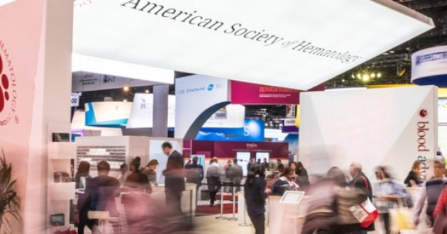 Interior of the San Diego convention center for ASH 2019