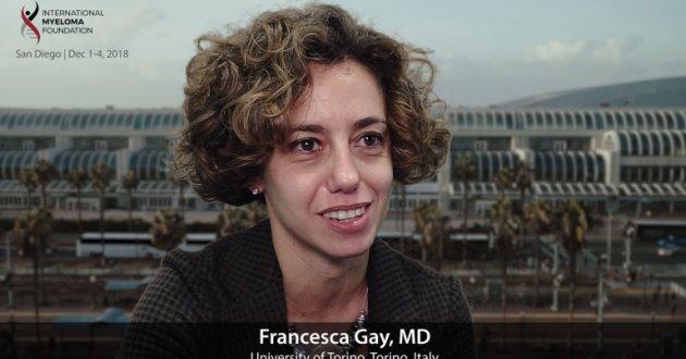 Dr. Francesca Gay at ASH Convention 2018