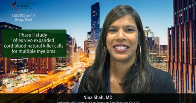 Phase II study of ex vivo expanded cord blood natural killer cells for multiple myeloma