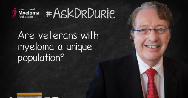 Dr. Durie on challenges that veterans face to get the best care.