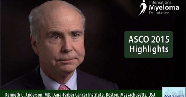 Dr. Ken Anderson at ASCO 2015