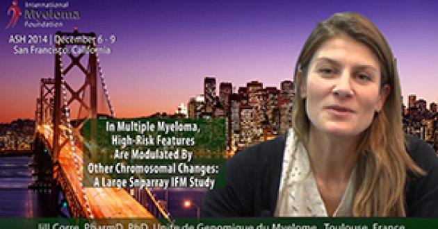 Jill Corre, MD at ASH 2014