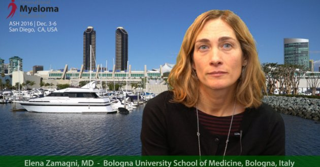 overview of multiple myeloma presentations at ASH 2016 by Dr. Elena Zamagni