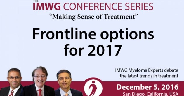 Frontline options discussion at 58th Annual ASH Meeting i