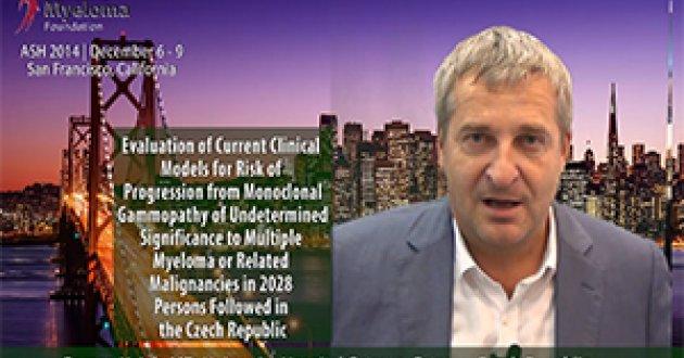 Dr. Roman Hajek at ASH convention 2014