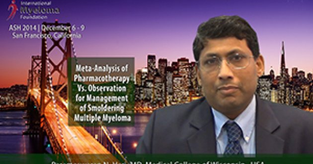 Dr. Parameswaran Hari at ASH 2014