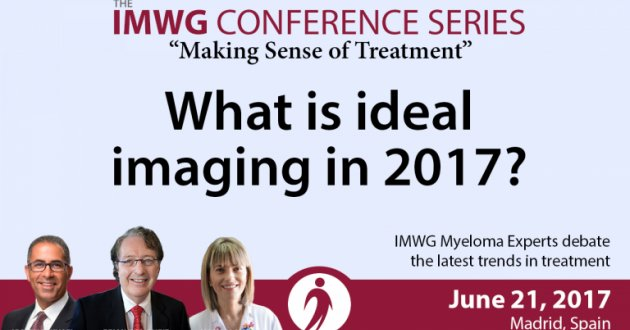 Drs. Brian G.M. Durie, Joseph Mikhael, and Maria V. Mateos discuss ideal imaging at the 8th IMWG