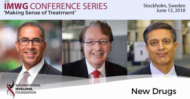Dr. Brian Durie moderates discussion about new drugs in the myeloma treatment with Dr. Joseph Mikhael and Dr. Sagar Lonial