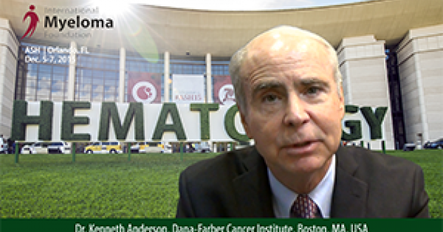 Dr. Kenneth Anderson at ASH 2015