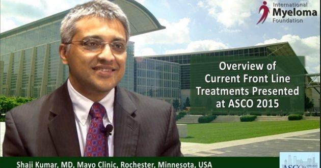 Dr. Shaji Kumar - ASCO 2015
