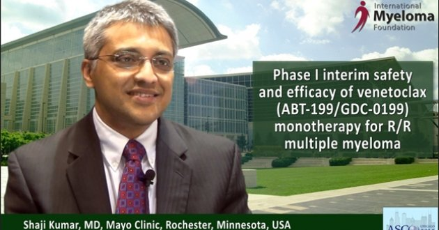 Dr. Shaji Kumar at ASCO convention 2015