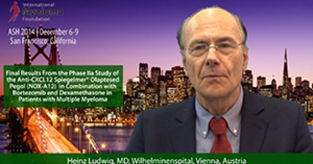 Dr. Heinz Ludwig at ASH convention 2014